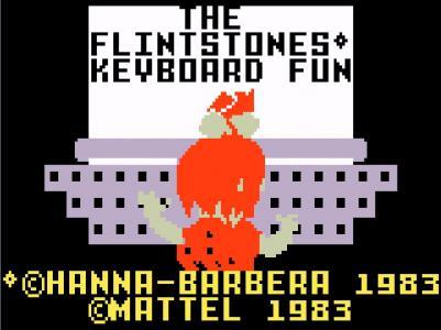 The Flintstones' Keyboard Fun
