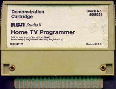 Demonstration Cartridge