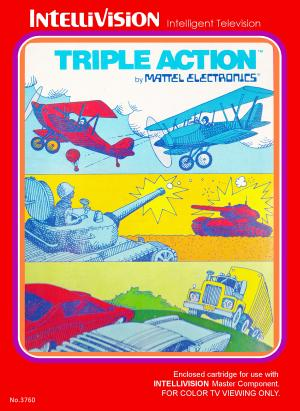 Triple Action/Intellivision
