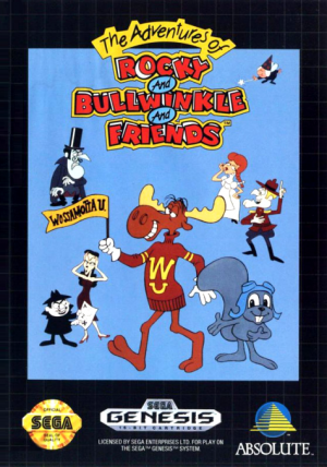 Adventures of Rocky & Bullwinkle and Friends/Genesis