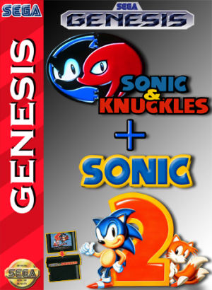 Sonic & Knuckles + Sonic the Hedgehog 2 cover