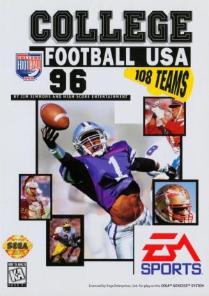 College Football USA '96/Genesis