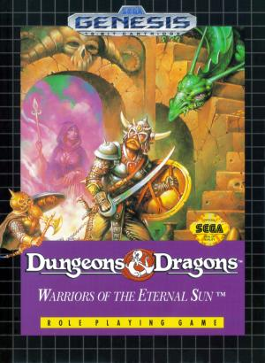 Dungeons & Dragons Warriors of the Eternal Sun/Genesis