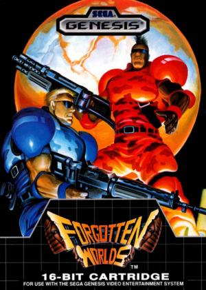 Forgotten Worlds / Sega Genesis