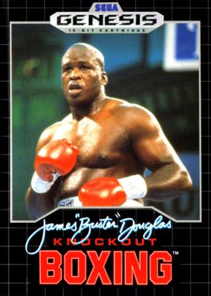 James 'Buster' Douglas Knockout Boxing/Genesis