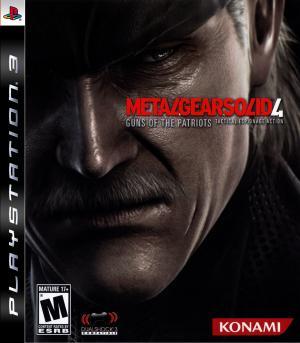 Metal Gear Solid 4 Guns of the Patriots/PS3