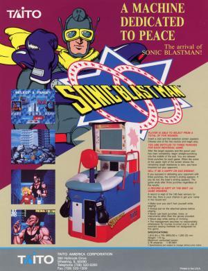 Sonic Blast Man cover