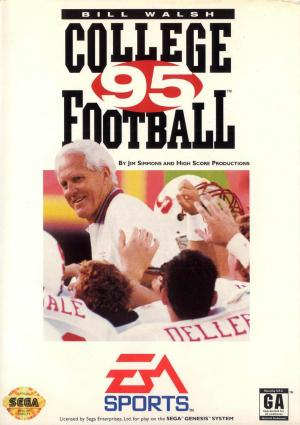 Bill Walsh College Football '95 /Genesis