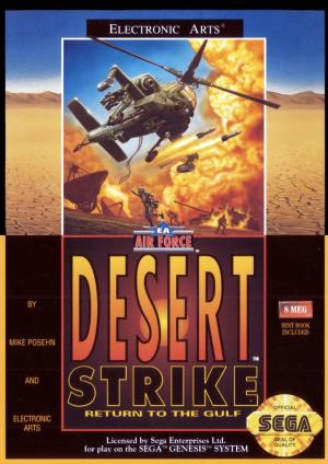 Desert Strike Return to the Gulf/Genesis