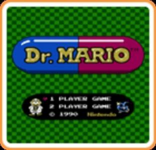 Dr. Mario (Virtual Console) cover