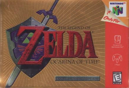 The Legend of Zelda: Ocarina of Time - Collectors Edition