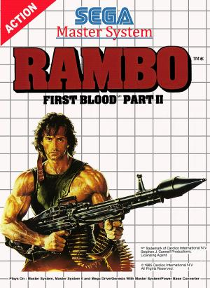Rambo First Blood Part II/Master System