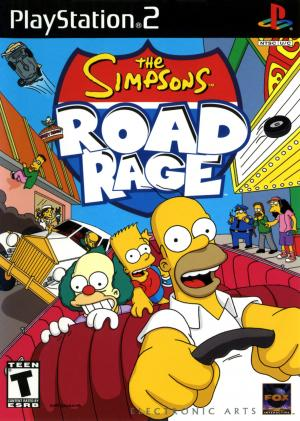 The Simpsons Road Rage/PS2