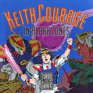 Keith Courage In Alpha Zones/TurboGrafx-16