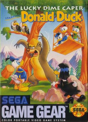 The Lucky Dime Caper Starring Donald Duck /Game Gear