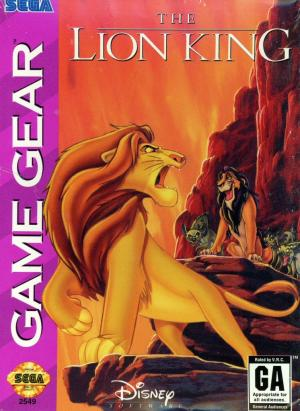 The Lion King/Game Gear