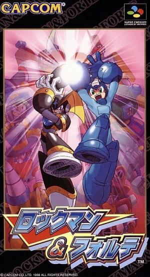 Rockman & Forte (Japonais SHVC-AR6J-JPN) / SFC