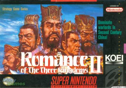 Romance of the Three Kingdoms II cover