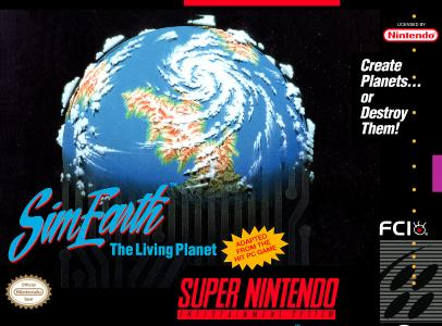 SimEarth The Living Planet/SNES