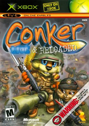 Conker Live and Reloaded/Xbox