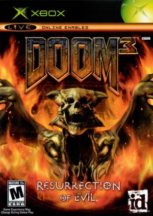 Doom 3 Resurrection Of Evil/xbox