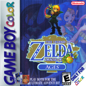 The Legend Of Zelda Oracle Of Ages/Game Boy Color