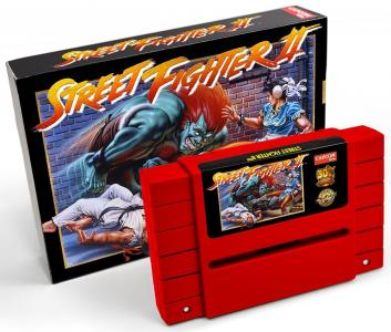 Street Fighter II (30th Anniversary Edition) (Red or Green card)