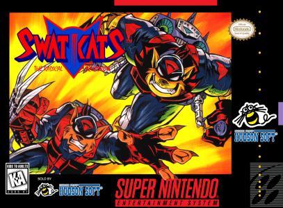SWAT Kats The Radical Squadron/SNES