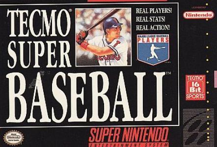 Tecmo Super Baseball/SNES