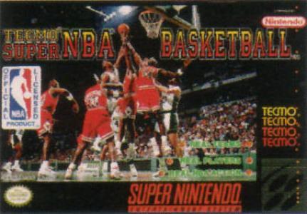 Tecmo Super NBA Basketball/SNES
