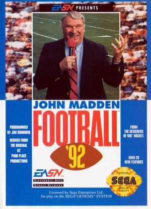 John Madden Football 92/Genesis