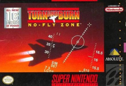 Turn & Burn No Fly Zone/SNES