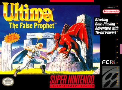 Ultima The False Prophet/SNES
