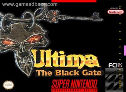 Ultima The Black Gate/SNES