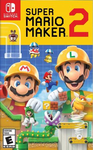 Super Mario Maker 2 cover