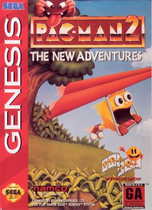 Pac-Man 2 The New Adventures/Genesis