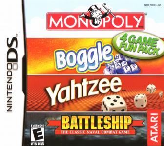 Monopoly/Boggle/Yahtzee/Battleship