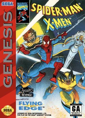 Spider-Man X-Men Arcade's Revenge/Genesis