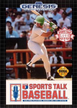 Sports Talk Baseball/Genesis