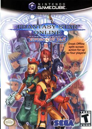 Phantasy Star Online 1 & 2/GameCube