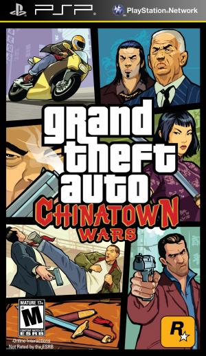 Grand Theft Auto Chinatown Wars/PSP