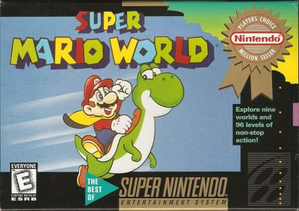 Super Mario World [Player's Choice] cover