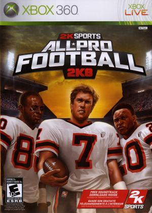 All-Pro Football 2K8/Xbox 360