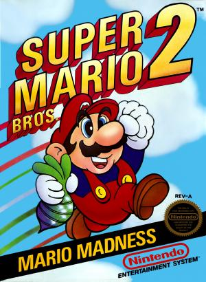 Super Mario Bros. 2 (Virtual Console) cover