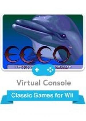 Ecco the Dolphin (Virtual Console) cover