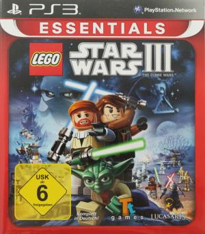 LEGO Star Wars III: The Clone Wars (Essentials) PAL