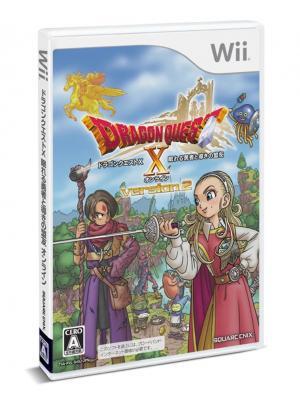 Dragon Quest X: Nemureru Yuusha to Michibiki no Meiyuu Online (Version 2)