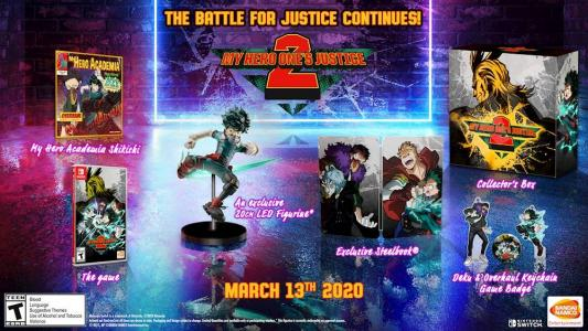 My Hero One's Justice 2 Collector's Edition