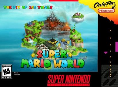 Super Mario World The Pit of 100 Trials cover