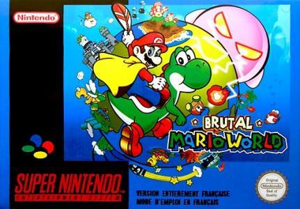 Super Mario World Brutal cover